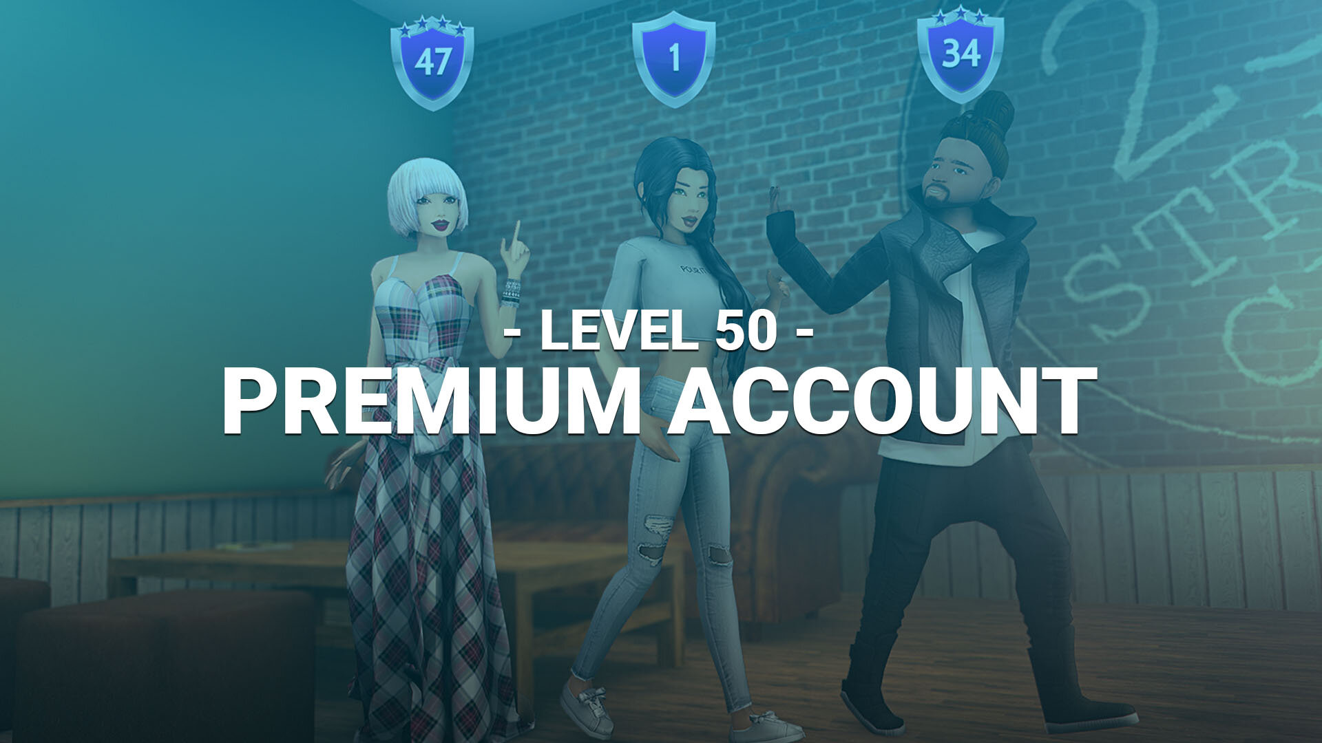 Premium Account (LVL 50)